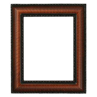 Somerset Rectangle Frame # 452 - Vintage Walnut