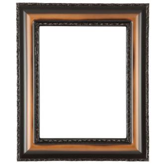 Somerset Rectangle Frame # 452 - Walnut