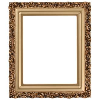 Venice Rectangle Frame # 454 - Desert Gold