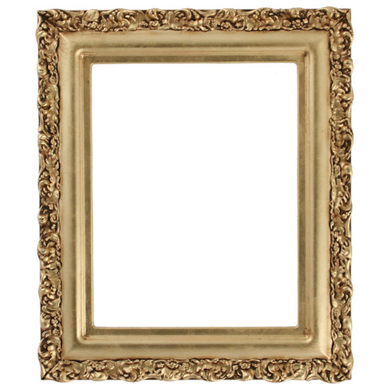 Rectangle frame in Gold Leaf Finish| Antique Gold Leaf Picture ...