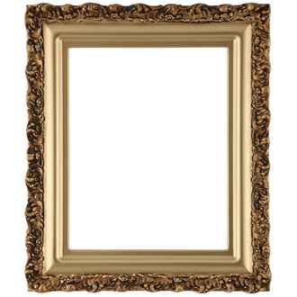 Venice Rectangle Frame # 454 - Gold Spray