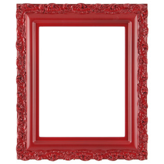 Venice Rectangle Frame # 454 - Holiday Red