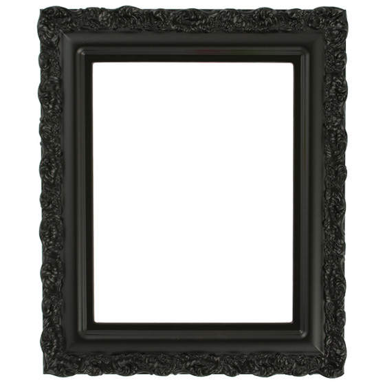 Venice Rectangle Frame # 454 - Matte Black
