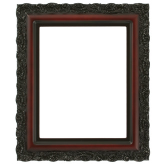 Venice Rectangle Frame # 454 - Rosewood