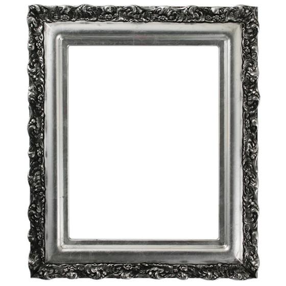 black antique picture frames. Venice Rectangle Frame # 454 - Silver Leaf With Black Antique Black Antique Picture Frames