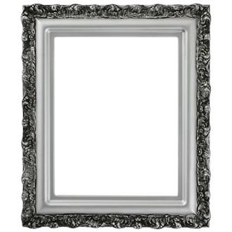 Venice Rectangle Frame # 454 - Silver Spray