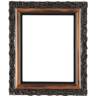Venice Rectangle Frame # 454 - Walnut