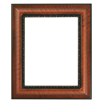 Chicago Rectangle Frame # 456 - Vintage Walnut