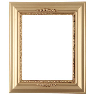 Boston Rectangle Frame # 457 - Gold Spray