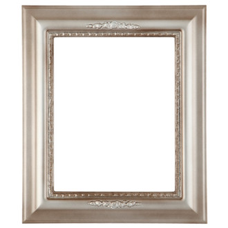 Boston Rectangle Frame # 457 - Silver Shade