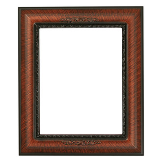 Boston Rectangle Frame # 457 - Vintage Walnut