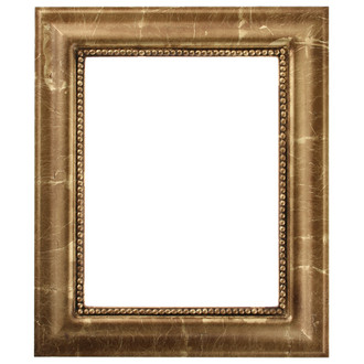 Heritage Rectangle Frame # 458 - Champagne Gold