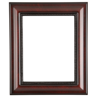 Heritage Rectangle Frame # 458 - Vintage Cherry