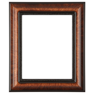 Heritage Rectangle Frame # 458 - Vintage Walnut