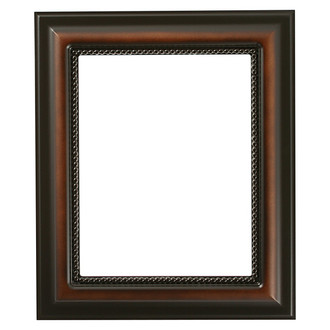 Heritage Rectangle Frame # 458 - Walnut