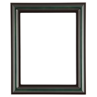 Philadelphia Rectangle Frame # 460 - Hunter Green