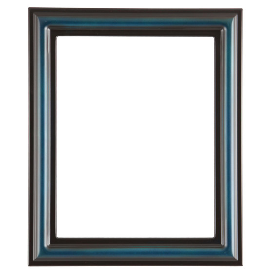 Rectangle Frame In Royal Blue Finish Blue Picture Frames