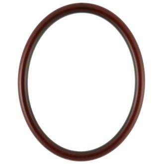 Pasadena Oval Frame # 250 - Rosewood