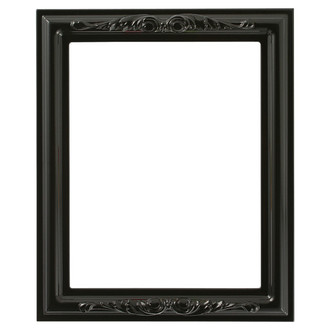 Florence Rectangle Frame # 461 - Gloss Black