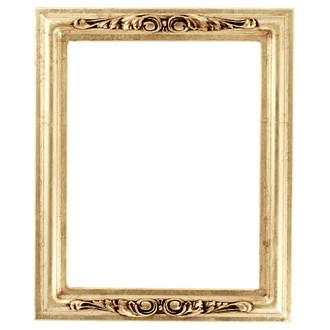 Florence Rectangle Frame # 461 - Gold Leaf