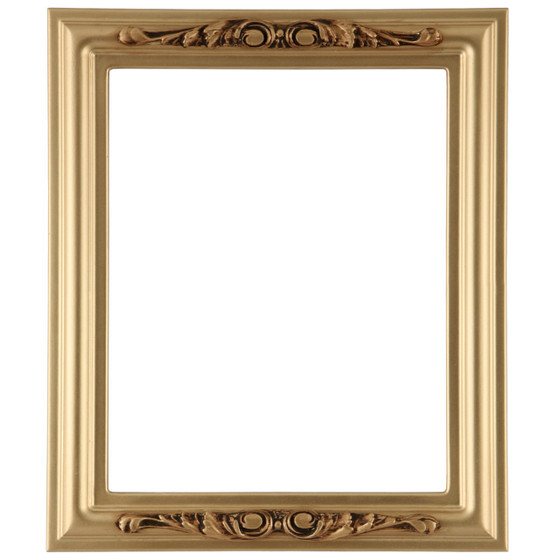 Rectangle Frame In Gold Spray Finish Antique Gold Paint Picture