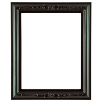 Florence Rectangle Frame # 461 - Hunter Green