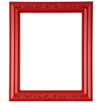 Florence Rectangle Frame # 461 - Holiday Red