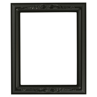Florence Rectangle Frame # 461 - Matte Black
