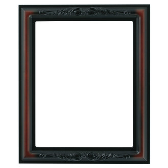 Florence Rectangle Frame # 461 - Rosewood