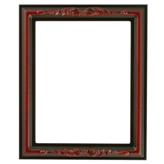 Florence Rectangle Frame # 461 - Vintage Cherry