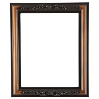 Florence Rectangle Frame # 461 - Walnut