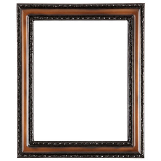 Dorset Rectangle Frame # 462 - Walnut