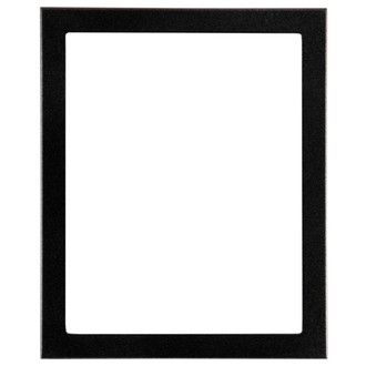Vienna Rectangle Frame # 481 - Black Silver