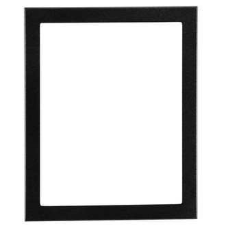 Vienna Rectangle Frame # 481 - Matte Black