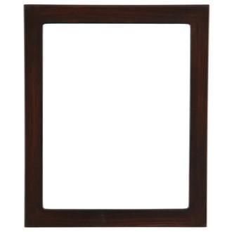 Vienna Rectangle Frame # 481 - Mocha