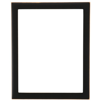 Vienna Rectangle Frame # 481 - Rubbed Black