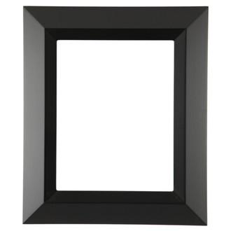 Veneto Rectangle Frame # 485 - Matte Black