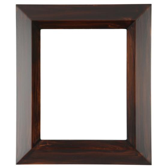 Veneto Rectangle Frame # 485 - Mocha