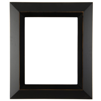 Veneto Rectangle Frame # 485 - Rubbed Black