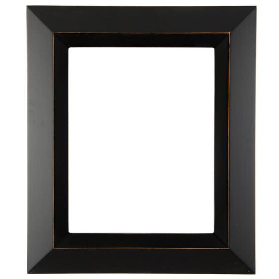 Veneto Rectangle Frame # 485 - Rubbed Black