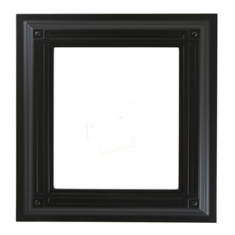 Imperial Rectangle Frame #490 - Matte Black