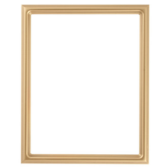 Saratoga Rectangle Frame # 550 - Gold Spray