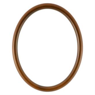 Pasadena Oval Frame # 250 - Walnut