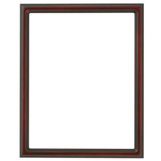 Saratoga Rectangle Frame # 550 - Rosewood