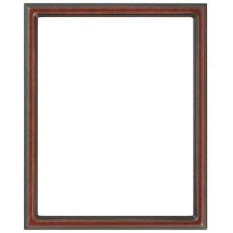 Saratoga Rectangle Frame # 550 - Vintage Cherry