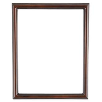 Saratoga Rectangle Frame # 550 - Walnut