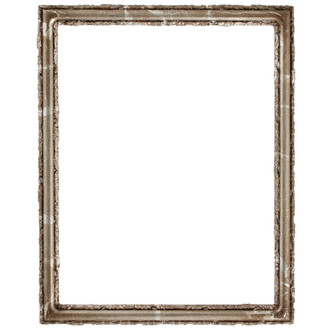 Virginia Rectangle Frame # 553 - Champagne Silver
