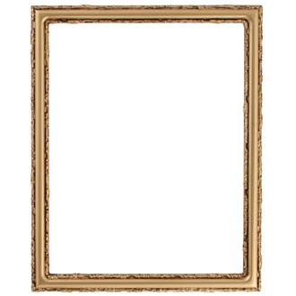 Virginia Rectangle Frame # 553 - Gold Spray