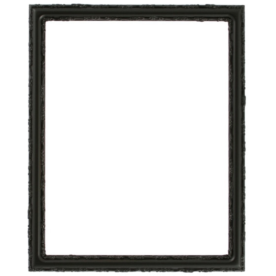Virginia Rectangle Frame # 553 - Matte Black