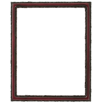 Virginia Rectangle Frame # 553 - Rosewood